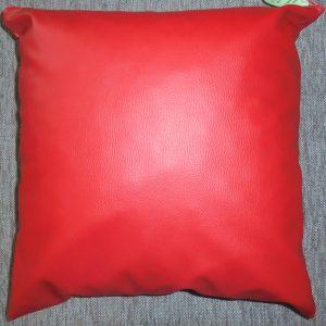 Възглавница декоративна 40/40 кожена