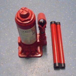 Крик хидравличен тип бутилка 3 тона Raider RD-HB03