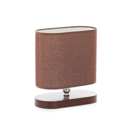 лампа на стойка EL1195/CF кафяво + дърво