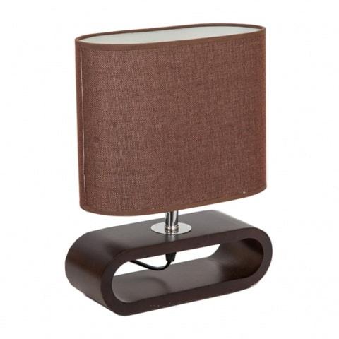 лампа на стойка EL 862CF кафява елипса
