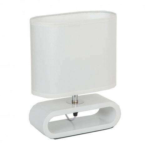 лампа на стойка EL 862 WH бяла елипса