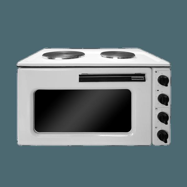 Готварска печка Раховец 01, 34 л, термостат, два котлона
