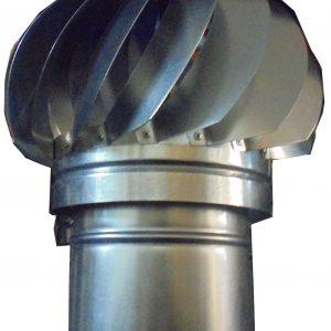 Шапка за комин вентилаторна ф150 въртяща
