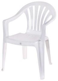 Стол пластмасов Вела бял