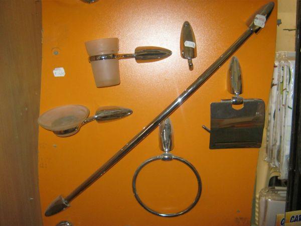 аксесоари за баня 6бр к-т Роса 7600