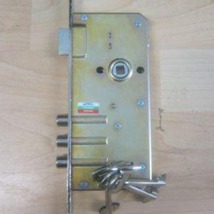 брава основна касова  с 4 ключа  101857