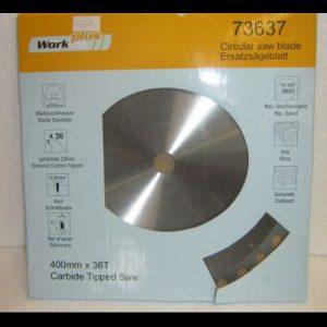 диск циркулярен за дърво видиран ф400 мм 36Т