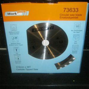 диск циркулярен за дърво ф315мм 36 зъба  73633