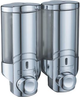 дозатор двоен за течен сапун; 2х200 мл.