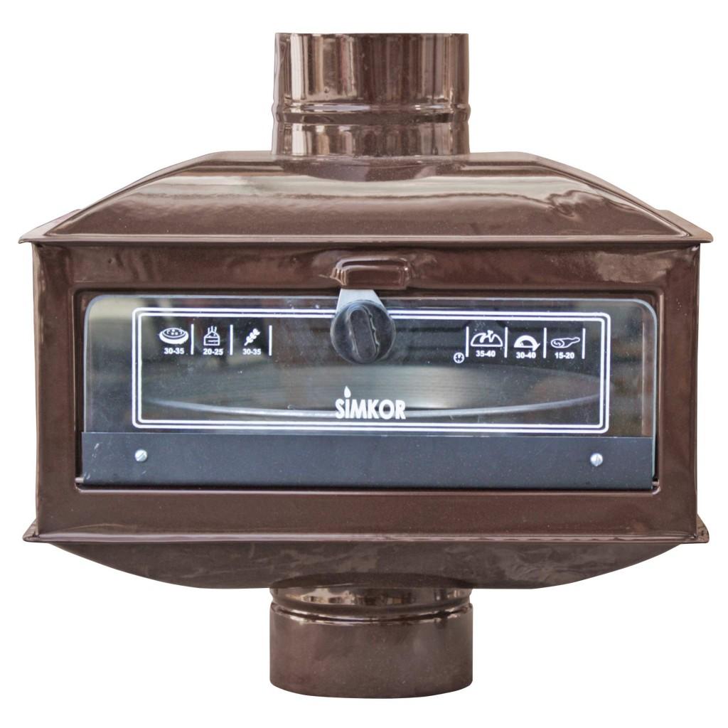 Фурна к-кт за печка на твърдо гориво, 43/35/23см. + тава 23см.