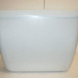 казанче пластмасово с бутон мрамор