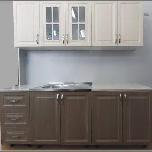 кухня Верона 2м.; бяло/мока+крийм; без плот