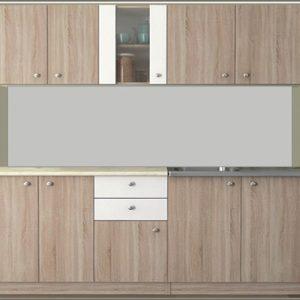 кухня Мареа1; 180см.; дъб сонома/бяло