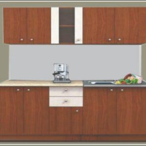 кухня Мареа1; 180см.; орех/бяло