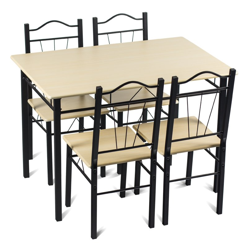 """Комплект маса с 4 стола 110х75х70см. """"Кармен"""" - клен"""