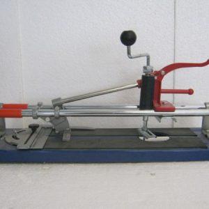 машина за теракот с цилиндрично рязане 400 мм