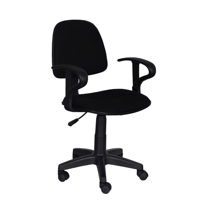 "Офис стол ""Кармен"" 94/54/47см., черен"