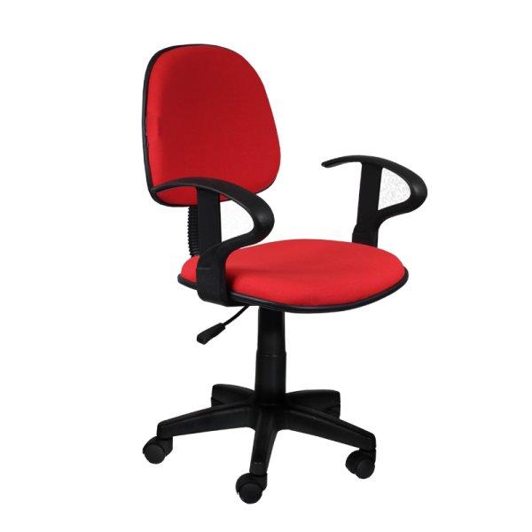 Офис стол Кармен - червен