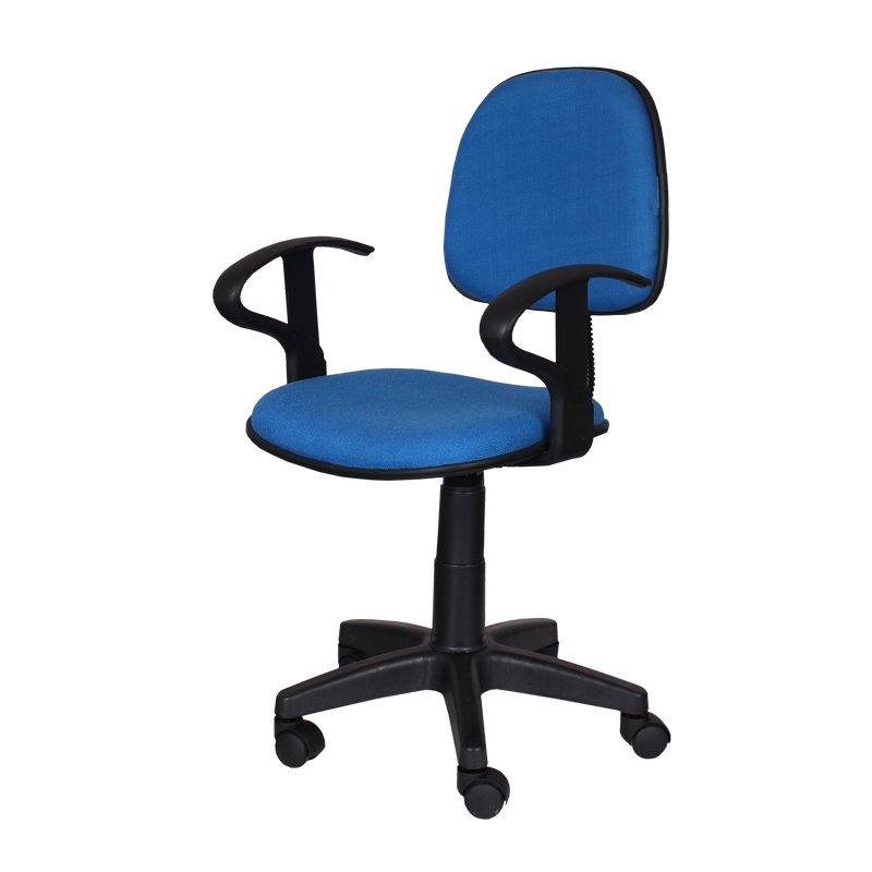 """Офис стол """"Кармен"""" 94/54/47см., син"""