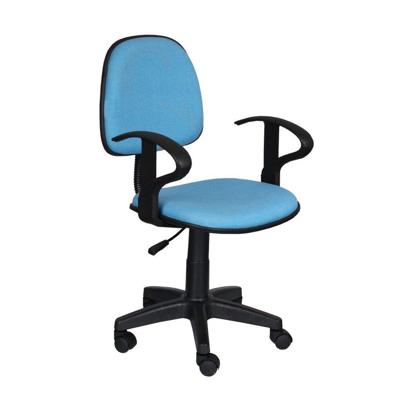 Офис стол Кармен - светло син