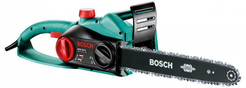 Трион електрически верижен BOSCH AKE 40 S, 1800 W,  400мм.