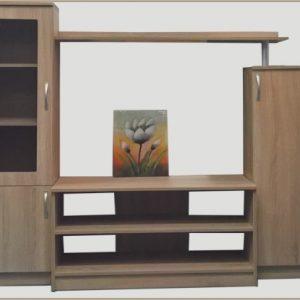 секционен шкаф Алфа 180/40/155 см, дъб сонома