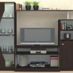 секционен шкаф Мареа1,161/45/Н-160 см.венге