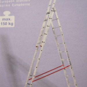 стълба алуминиева 44-08 ,   4,8м