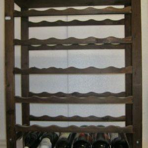 стилаж дървен Амбросия за 36 бутилки