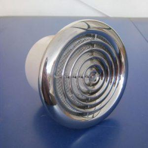 вентилатор санитарен  ф 100хром 14W вентс
