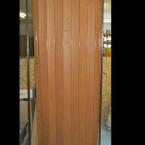врата хармоника 80х203хзлатен дъб 121838