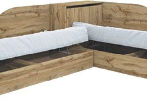 легла ъглови+ракла Соломон2001 дъб дакота