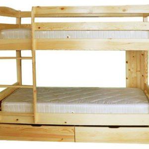 легло двуетажно с чекмеджета Чам