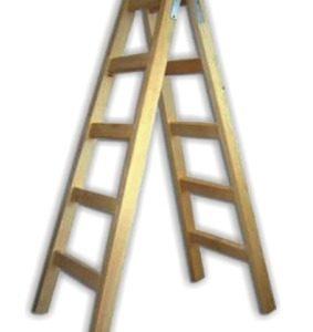 стълба дървена