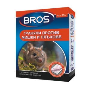 гранули против мишки и плъхове 140 гр.