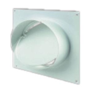 конектор за стена ф100 с клапа Vents 1511