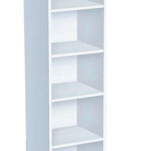 етажерка 5.1 рафта без врати, бяло