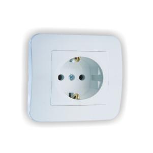 контакт единичен, бял, 55028 LN