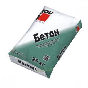 бетон баумит 25кг.