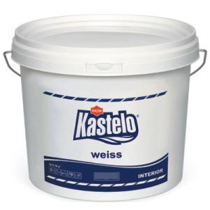 латекс Кастело - дишащ . бял