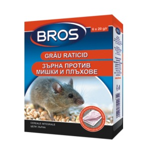 зърна срещу мишки и плъхове-120гр.