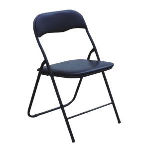 стол сгъваем-кожен черен